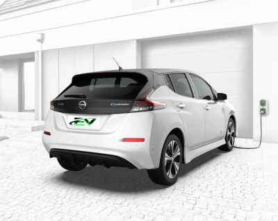 Home ev car charging points small